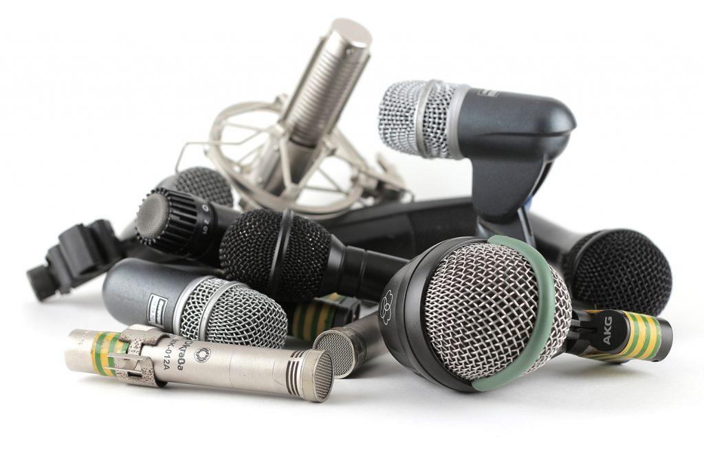 инструментальные микрофоны — студия звукозаписи Русь
